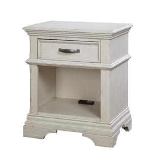 Kerri Nightstand in Rustic White