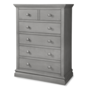 Ridge 5 Drawer Chest in Cloud