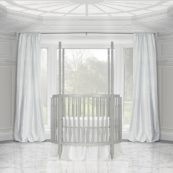 Round Crib in Silver Pearl 2