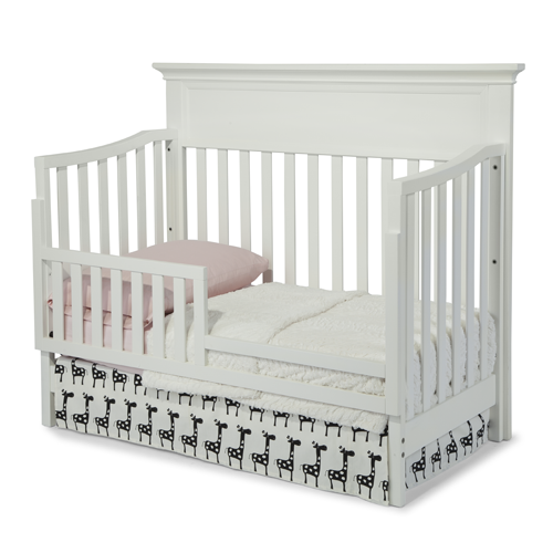 Wynn 4 In 1 Convertible Crib In White