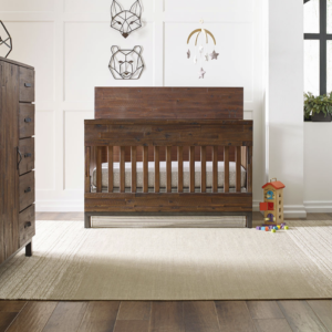 ED by Ellen Degeneres Greystone Collection Convertible Crib in Hewn Brown