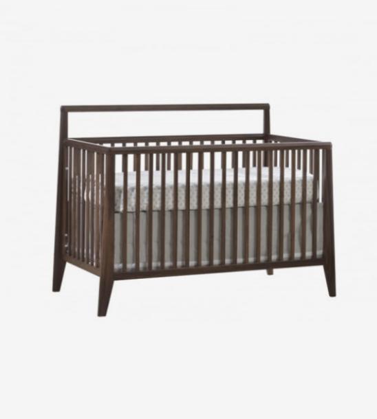 Rio 4 in 1 Convertible Crib in Walnut