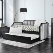 Anze Twin Size Daybed in Grey