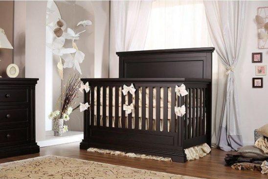 Jackson Crib in Cherry
