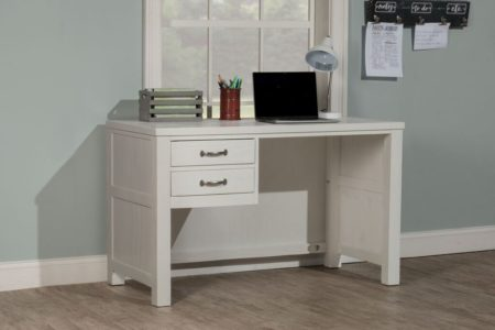 Kenwood Desk in Distressed White