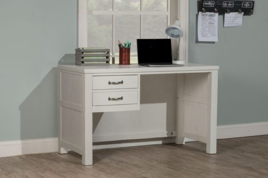 Kenwood Desk in Distressed White
