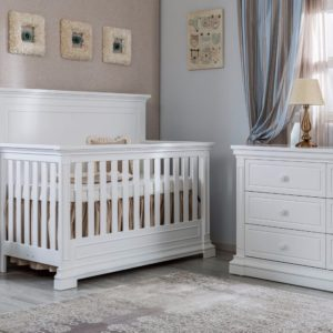 SILVA Jackson Crib in White