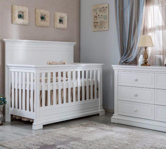SILVA Jackson Crib in White