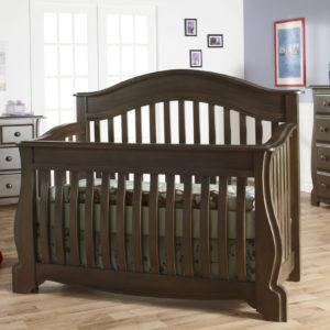 Bergamo Convertible Crib in Earth