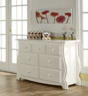 Bergamo Double Dresser in White