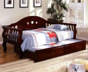 Charli Twin Size Daybed in Cherry