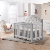 Cristallo Crib in Vintage White - Set 2