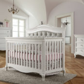Diamante Forever Crib with Grey Panel