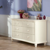 Gardenia Double Dresser in Dream Finish
