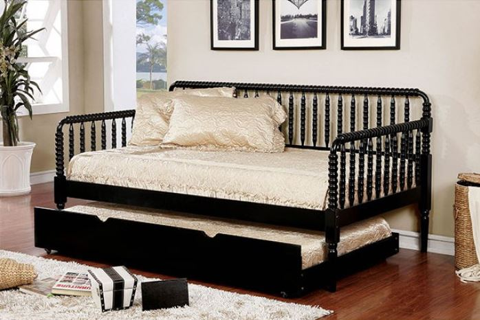 Jenny Traditional Twin Size Daybed White Amp Black