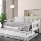 Jenny Twin Size Daybed in White