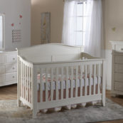 Napoli Crib in White