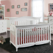 Nova Convertible Crib in White