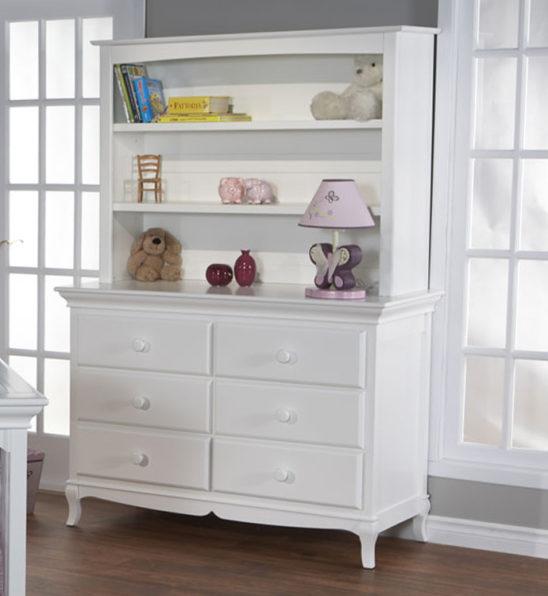 Nova Double Dresser in White