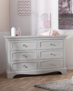 Ragusa Double Dresser in Vintage White