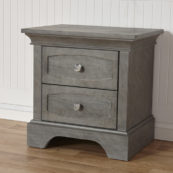 Regina Nightstand in Distressed Granite