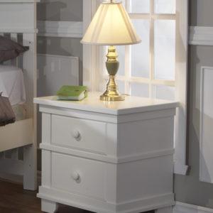 Torino Nightstand in White