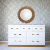 Astoria Double Dresser in White