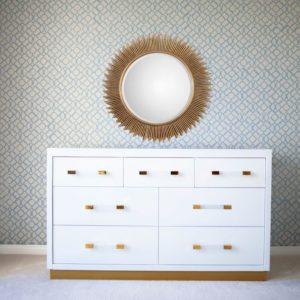 Astoria Double Dresser in White