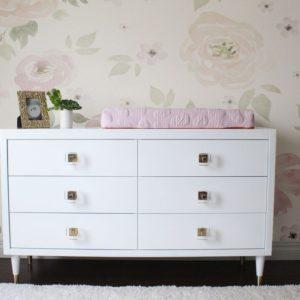 Uptown Double Dresser in White