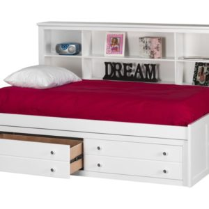 Bay Lounge Bed in White