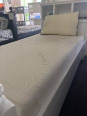 organic cotton gel foam twin mattress