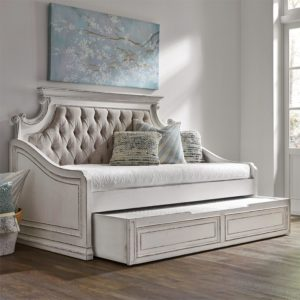 Le Grand Daybed with Trundle in Antique White