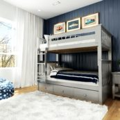 bristol grey with 3 drawer underbed unit