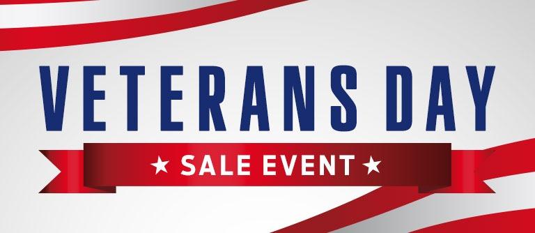 Veterans Day Sale 2019
