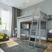 jackpot canterbury loft bed grey 1