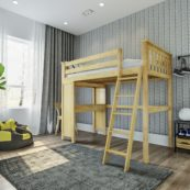jackpot canterbury loft bed natural 1