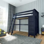 jackpot edinburgh loft bed blue
