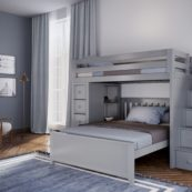 jackpot oxford loft bed grey