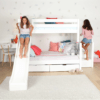 maxtrix bunk bed with slide
