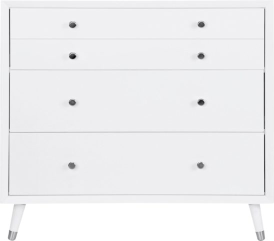Devon Dresser in White