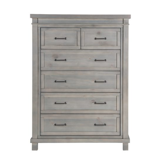Roman Chest in Washed Grey