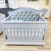 Argento Custom Tufted Convertible Crib